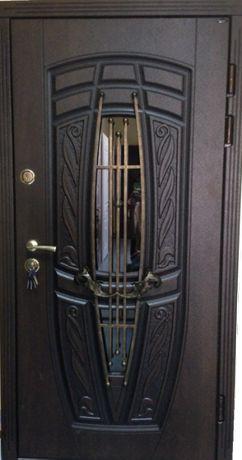 Вхідні двері «Портала» серії Преміум – модель Монако (3-D та Патина)