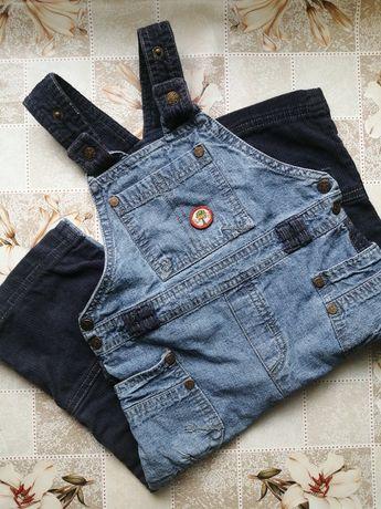 Комбинезон джинс +вельвет