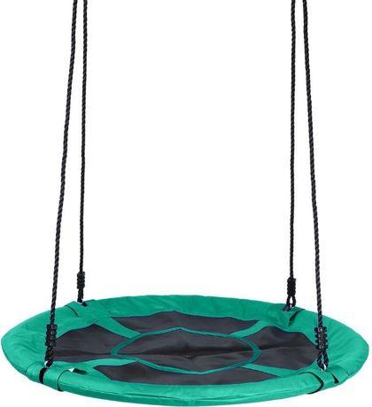 okrągła pełna Huśtawka ogrodowa bocianie gniazdo dla dzieci 100 cm