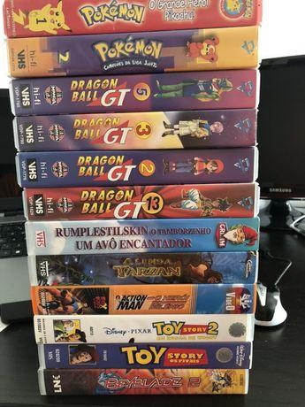 Filmes e animes Vhs