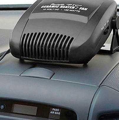 Автомобильный обогреватель работает от 12В