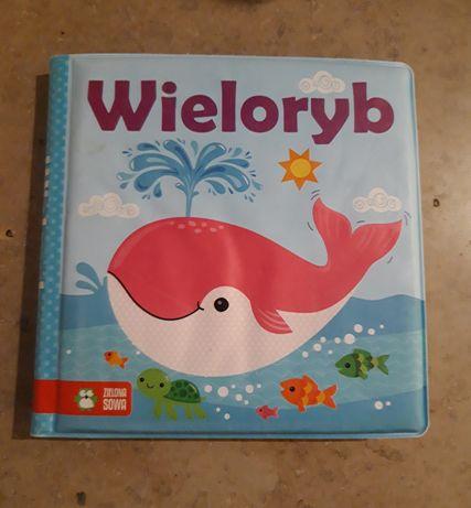 Z książką w kąpieli. Wieloryb (książeczka do kąpieli)