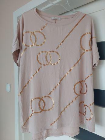 T-shirt koszulka oversize ciążowa