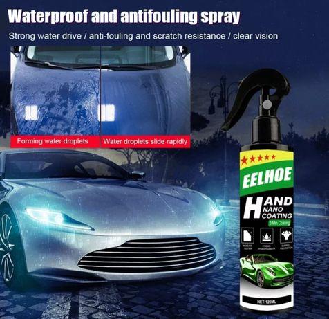 spray automotivo Revestimento cerâmico Nano