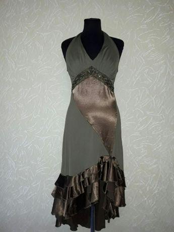 Новое вечернее платье 46р.