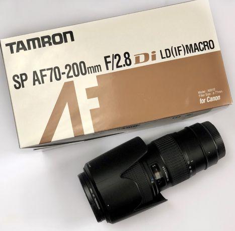Tamron SP AF 70-200mm F/2.8 Di LD (IF) Macro для Canon