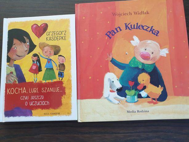 Pan Kuleczka K. Widłak oraz Kocha, lubi szanuje G. Kasdepke
