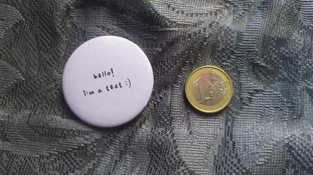 crachás personalizados de 44mm - personalized pinback button badges