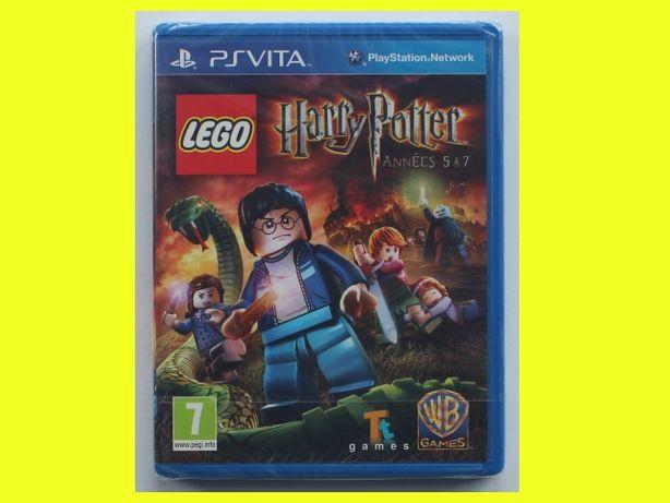 #folia# Lego Harry Potter lata 5 - 7 PS Vita PSV napisy PL