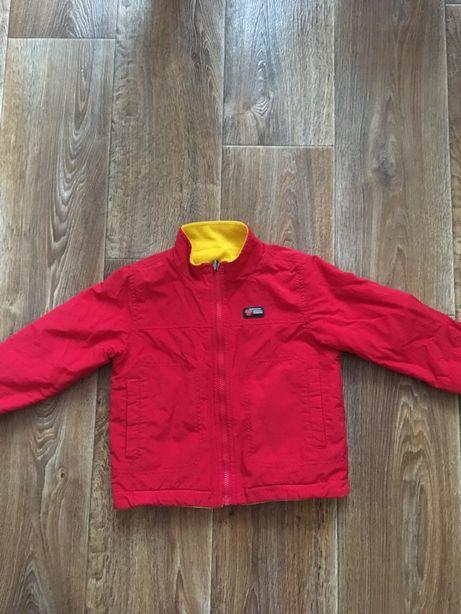 Двусторонняя демисезонная куртка ветровка