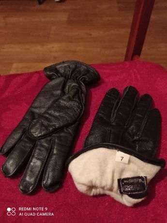Продам кожаные теплые женские перчатки времен СССР.
