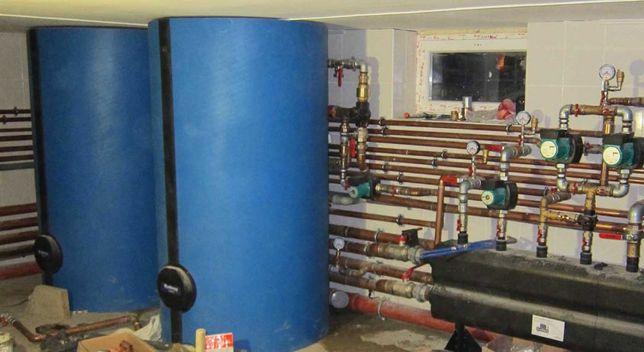 Проект, монтаж, котел, солн.батареи, тепловой насос, отопление дома