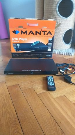 Odtwarzacz DVD Manta