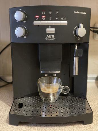 Кавова машина AEG Electrolux БУ. Кофемашина.
