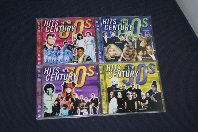 4 CD - Hits Of The Century - Pop - Rock - Slow - Oldies 60s 70s 80s 90