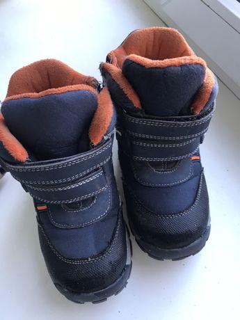 Зимние ботинки / сапожки на мальчика 27р
