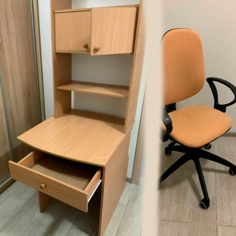 Продадим стол + кресло в подарок - самовывоз!