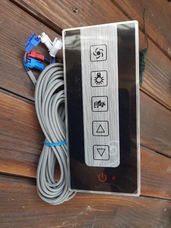 Elektryczny panel sterujący do kabiny prysznicowej KERRA Paulina dotyk