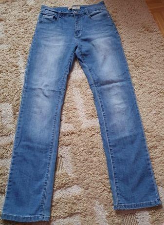 jeansy wysoki stan