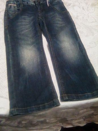 джинсовие брючки на девочку и джинсовая юбка