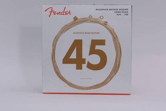 Fender 8060 Phosphor Bronze struny do akustycznej gitary basowej