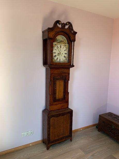 Angielski stary zegar stojący