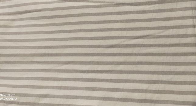 Prześcieradło bawełniane bez gumki 160x200