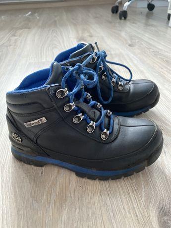 Кожаные ботинки Timberland, размер 32