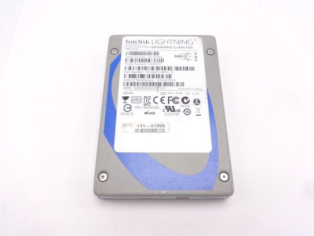 "Продам SanDisk Lightning LB406SC 400GB SLC 2.5"" SAS SSD"