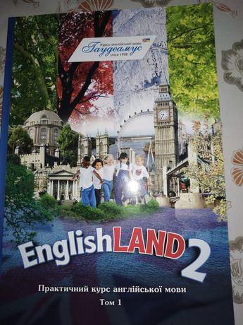 Книжка English Land 2 НОВА!