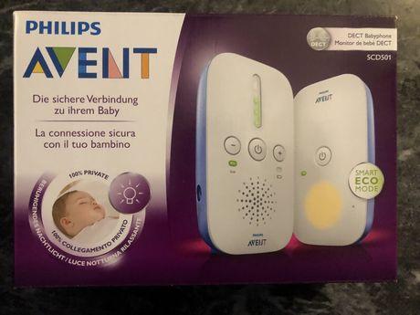 Intercomunicador Bebé philips Avent SCD501 - áudio até 300m