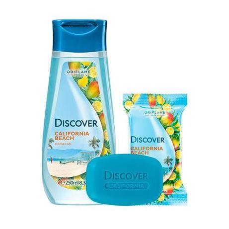 CALIFORNIA BEACH zestaw do kąpieli żel + mydło marka ORIFLAME