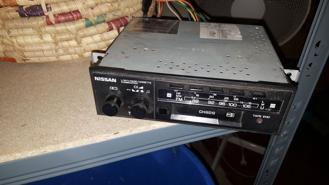 Radio retro oldtimer na kasety Nissan CH928