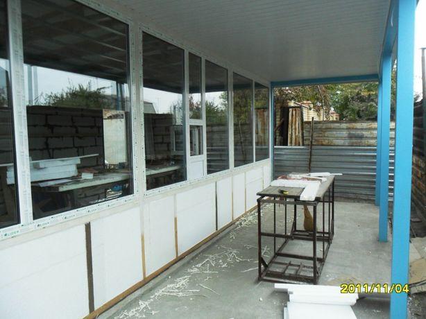 Продам окно с окошком 45х45см + роллет