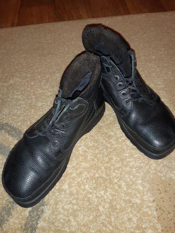 Ботинки  кожаные на подростка
