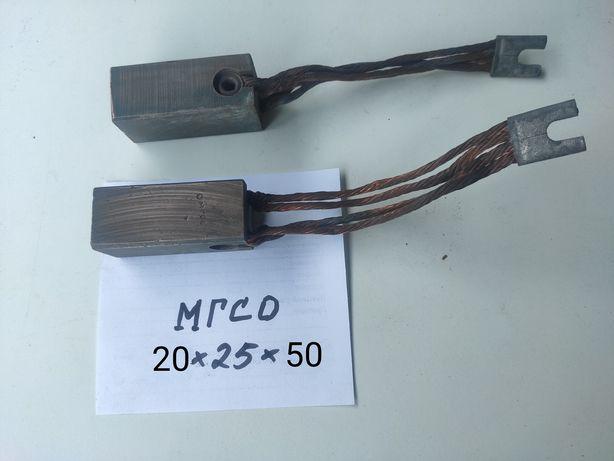 Щётка меднографитовая МГСО20х25х50 электрощётка