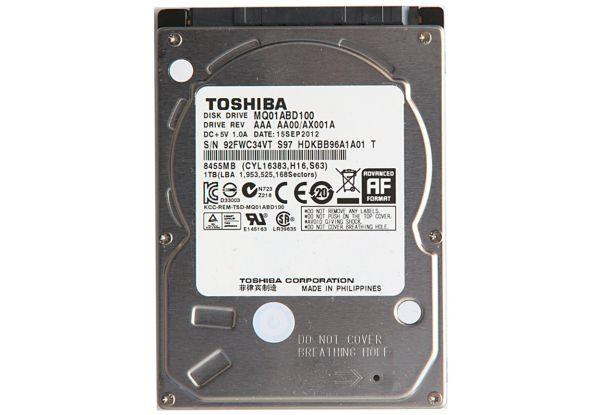 "Жесткий диск Toshiba int. HDD 2.5"" 1TB 5400rpm SATA II 8MB MQ01ABD100"