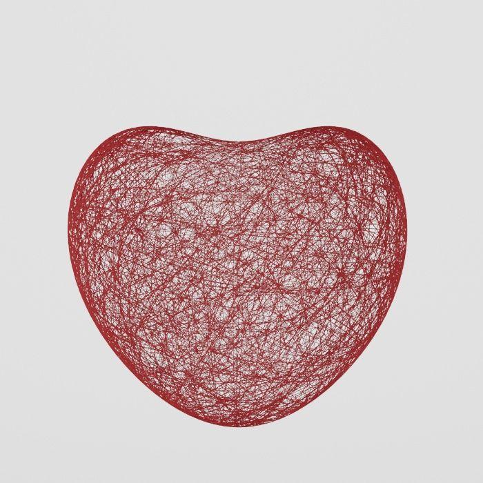"""Сердце из ниток для декора. """"День Святого Валентина"""" Кривой Рог - изображение 1"""