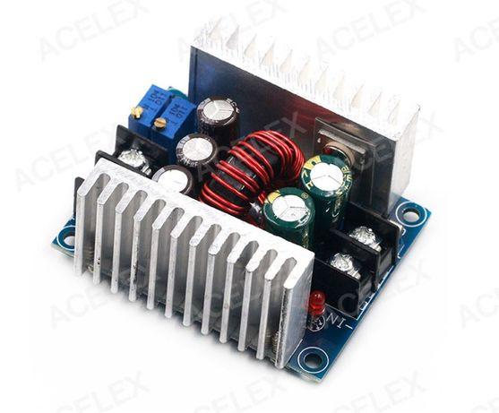 Понижающий стабилизатор напряжения и тока вход до 35 В выход до 20 А