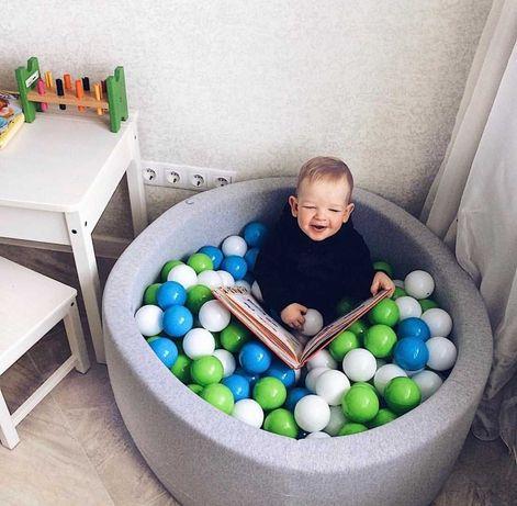 Детский манеж с шариками, сухой бассейн. Отправка в день заказа.