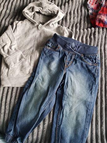 Spodnie H&M i bluza 92 cm