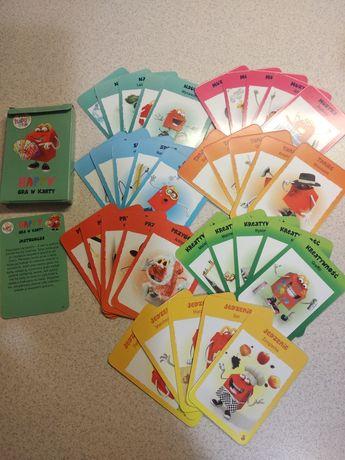 Nowa Gra karciana - karty do gry - super dla najmłodszych / nieużywana