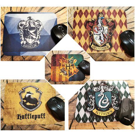 Podkładka pod mysz Slytherin, Gryffindor, Ravenclaw, Hufflepuff