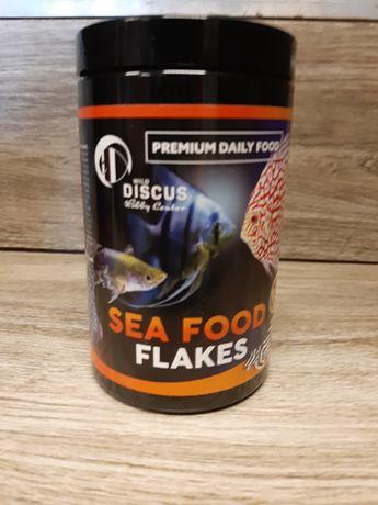 Discus Premium Daily Food SEA FOOD flakes, Chorzów 400ml