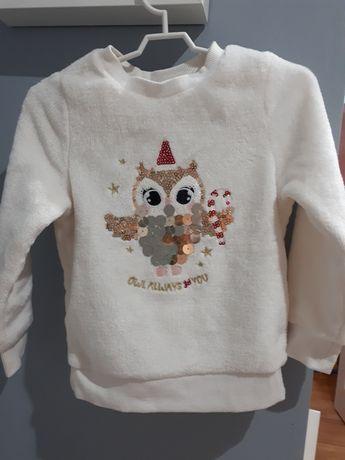 Sweter świąteczny H&M 98