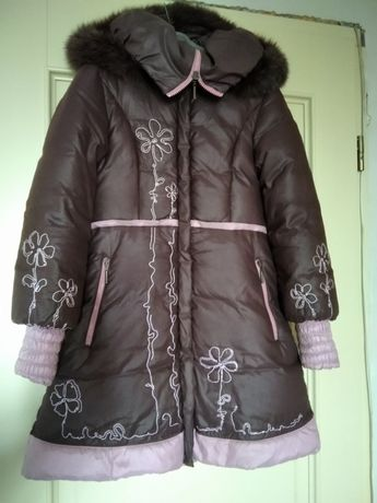 Зимнее пальто пуховое! Пуховик.