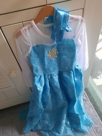 Sukienka Elzy, rozmiar 4-5 lat