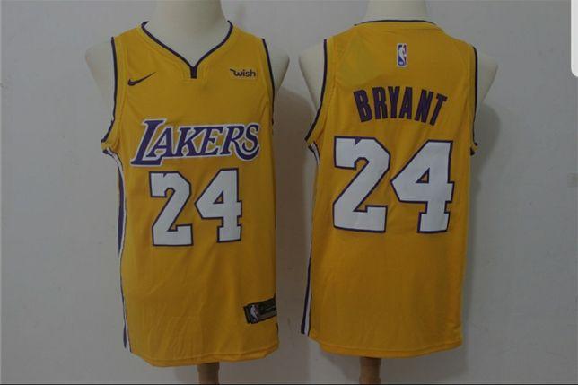 Camisola NBA dos LA Lakers, do lendário jogador Kobe Bryant