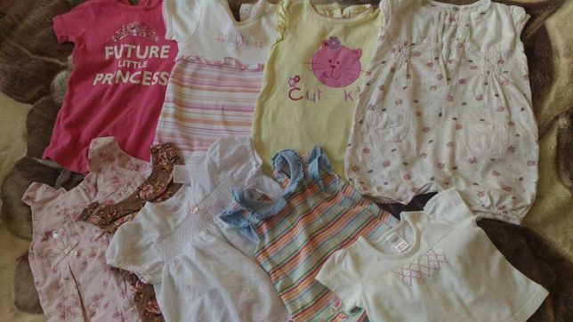Дитячі речі для новонароджених пакетом