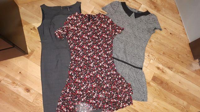 Sukienki paka, zestaw, H&M 38/40